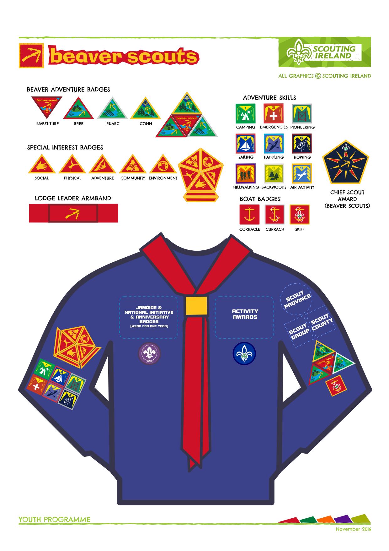 21292b5a Uniform & Badges – 1st Kilkenny Scouts